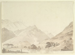Hilly scene, S. India (?)